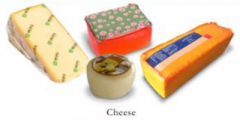 Thermoshrinkable film: Firm cheese