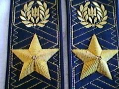 Shoulder straps of the general of Ukraine