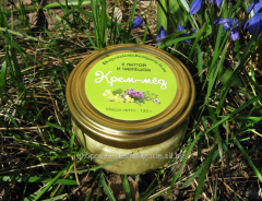 Крем-мед с липой и чабрецом