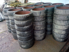 Bandage solid tires - 520 h152; 810 x 185 GOST
