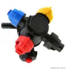 Four-valve head final AP 0-100.01/KL