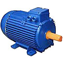 Electric motors are three-phase common industrial