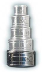 Коробка стерилизационная круглая КСК-18, объем 18 дм3, диаметр 372 мм