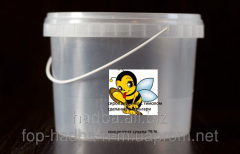 Medical syrup for bees with methyl-isopropyl