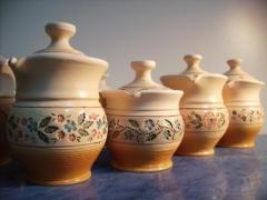 Author's list ceramics