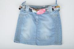 Юбка джинсовая для девочки стрейчевая NFK 3045