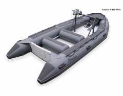 Professional air boat of Adventure Rubicon R-495