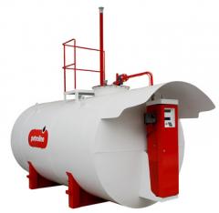 Modular gas stations