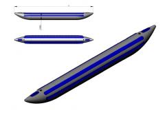 Cylinder for KAT 500/50V catamaran