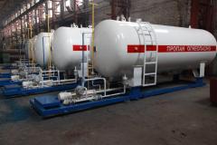 Fyllningsstation (modul för tankning fordon AGZP LPG)
