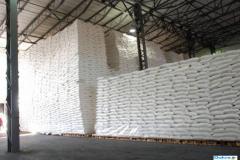 Sugar in bags of 50 kilograms for export