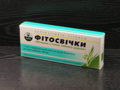 Fitorovye's phytocandles with oil of a tea
