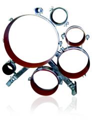 Опорно-направляющие кольца стальные и стальные