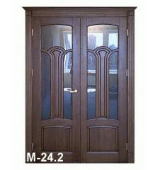 Двери из массива натурального дерева М-24.2