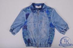 Пиджак для девочки джинсовый FORS KIDS 3166
