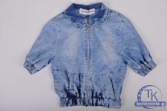 Пиджак для девочки джинсовый FORS KIDS 3167