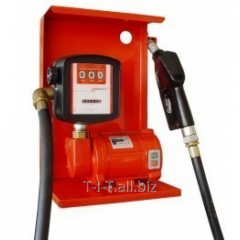 The pump for gas station, pumping of gasoline,