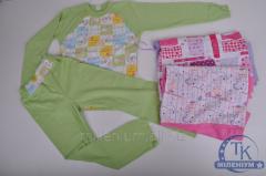 Пижама для девочки трикотажная 2207
