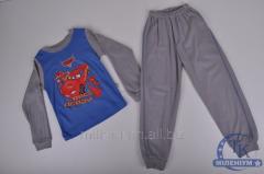 Пижама для мальчика трикотажная 2-2002