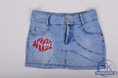 Юбка для девочки джинсовая NFK 3164 Рост:152,158