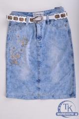 Юбка для девочки джинсовая NFK 3161