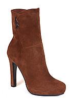 Ботинки замш коричневые Lider 35, 36 размер