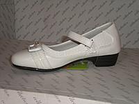 Туфли белые для девочки 25, 27, 28 размер
