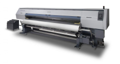 The textile printer with a printing width 3,2m