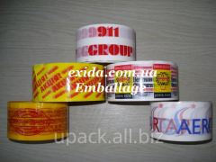 Adhesive tape (width of 24,48 mm)