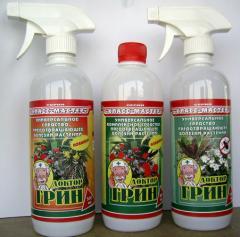 Liquid organic Doctor fertilizer Green