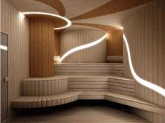 Saunas, baths wooden. Complete set of saunas