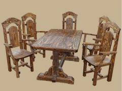 Мебель деревянная. Садовая, дачная мебель. Мебель