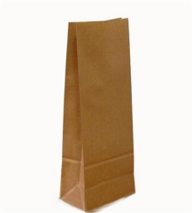 Brown package of the bottom 265kh130kh65mm, code: