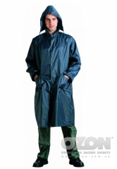 The PVC raincoat is moisture protective, art.