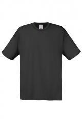 T-shirt of 100% cotton (black)