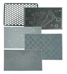 Rugs rubber, rubber rugs 400 * 600 mm in assortmen