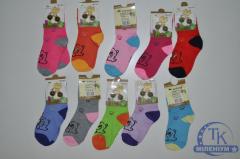 Носки для девочки всесезонные