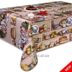 Kitchen cloth on a basis Sweet cakes, 37-A