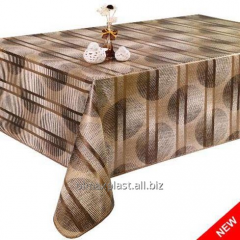 Stylish oil-cloth cloth with gold outflow, 30-A