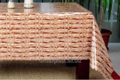 Oilcloth on a table Knitting, interesting option