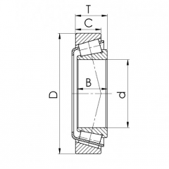 Bearing 61905-ZZ.CRF-I