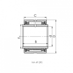 Bearing 61905.CRF-I