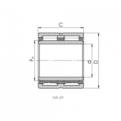 Bearing 108905.CRF-I