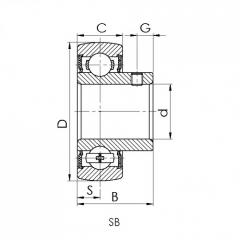 Bearing 22205-CW33.CRF-I