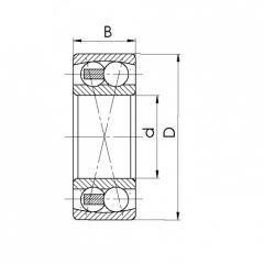 Bearing 1216K+H216.CRF-P