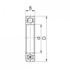 Bearing 61908-2RS.CRF-I