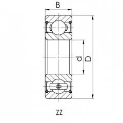 Bearing 6007-Z.CRF-I