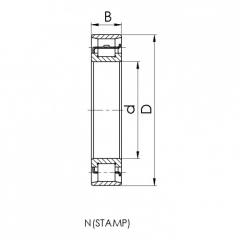 N222-M.CRF-W bearing