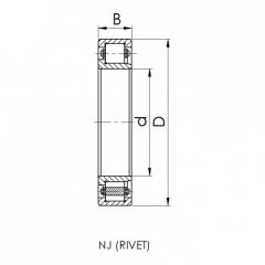 Bearing 33117.CRF-I