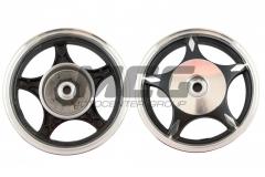 Wheel disk 2,15 * 10th back, drum of light-alloy,